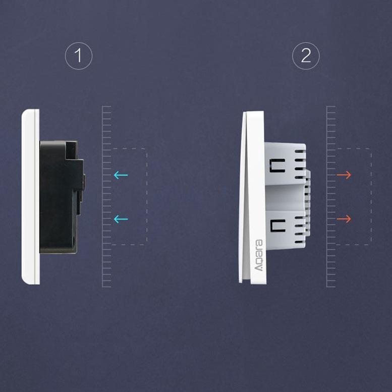 کلید برق هوشمند تک پل و دو پل AQARA شیائومی