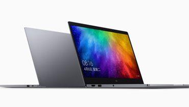 شیائومی می نوتبوک ایر ۱۳٫۳ اینچی با پردازنده نسل هشتم اینتل معرفی شد