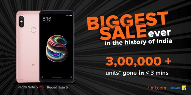 فروش بالای گوشی شیائومی Redmi Note 5 Pro