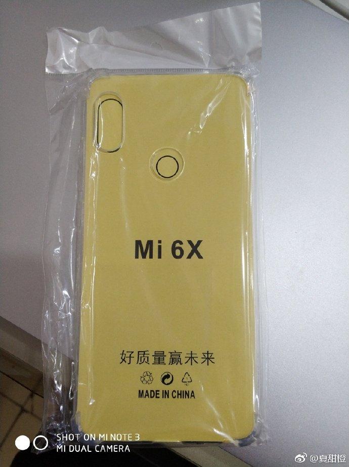 قاب پشت Xiaomi Mi 6X