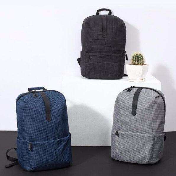 کوله پشتی شیائومی مدل College Casual مناسب برای لپ تاپ 15 اینچی | Xiaomi College Casual Backpack For 15 Inch Laptop