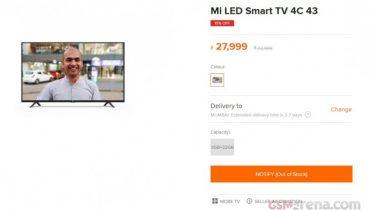 معرفی تلویزیون شیائومی Mi LED Smart TV 4C