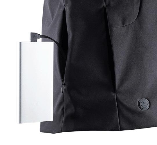 ژاکت جدید شیائومی به همراه مکانیزم گرمایشی