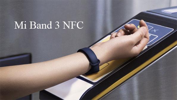 Mi Band 3 نسخه دارای NFC