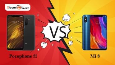 مقایسه فنی گوشی های Xiaomi Mi 8 و Xiaomi Pocophone F1
